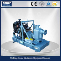Agricultural farm irrigation diesel engine driven horizontal end suction centrifugal water pump