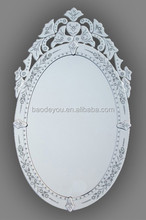modern design decorative mirror venice curved wall mirror