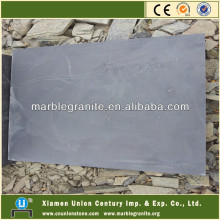Natural Smooth Honed Black Slate