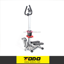 2017 gym exercise stepper with dumbbell