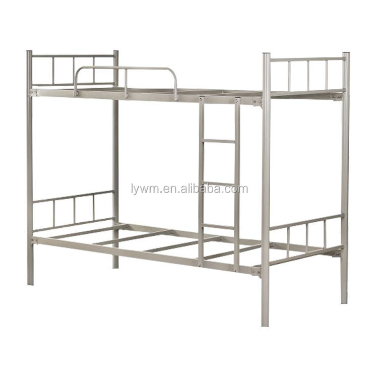 Powder coating bunk Bed with connecting brackets , bed rail fasteners