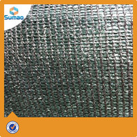 PE tennis court privacy fence screen with copper or alumiinium grommets changzhou