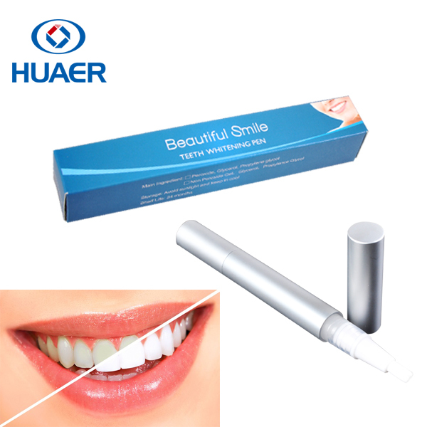 Touch up NON PEROXIDE Teeth Whitening Pen with FDA | CE Approved