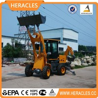 Chinese small backhoe loader/mining loader