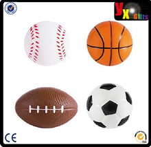 Sports Themed Mini Stress Balls Squeeze Foam for Anxiety Relief, Relaxation, Party Favor Toy, Gifts