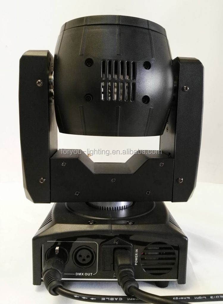 NEWcomer Endless Rotating 16CH DMX Mini Sharpy Beam 60W RGBW 4IN1 LED Moving Head For Disco DJ KTV Bar