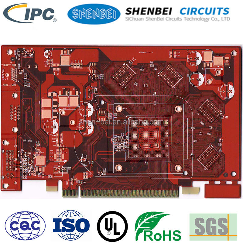 SHENBEI High Precision Multilayer PCB Design Prototype infrared led pcb board sd card android pcb board