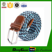 Belt Factory New Fashion Soutache Western Fabric Men's Slide Buckle Braid Belt