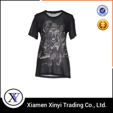Bulk wholesale cheap fashion ladies t shirts long length