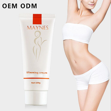 2017 New OEM Private Label Best Fat Burning Cellulite Slimming Weight Loss Cream for Sex