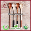 Wood Long Handle Wooden Spoons, Drink Stirrers Mixing Spoon