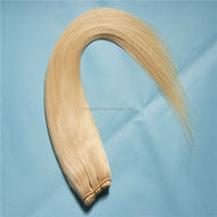 Cheap 3 Bundles Brazilian Hair Mixed Length, Brazilian Red Remy Hair Extensions, Blonde Brazilian Hair Weft