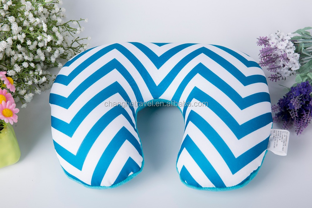 2016 new products 2 in 1 Microbead Neck Pillow with high quality and for good travel.disposable neck pillow cover