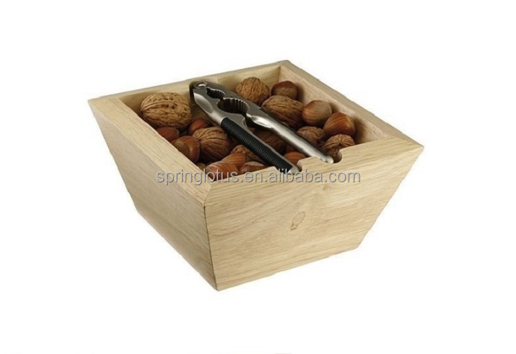 Professional ODM rubber Wood Box and Aluminum Alloy Nutcracker