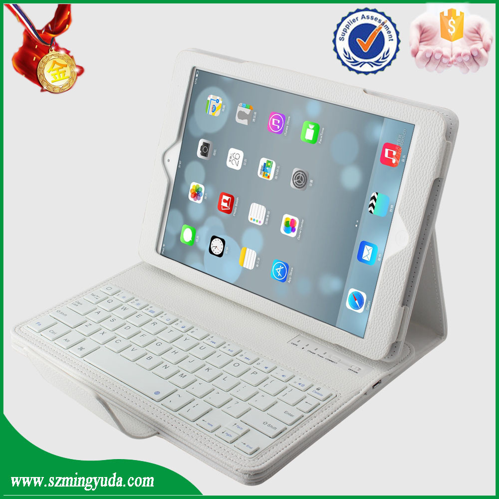 China Factory PU leather case flip cover 10 inch stand for ipad air