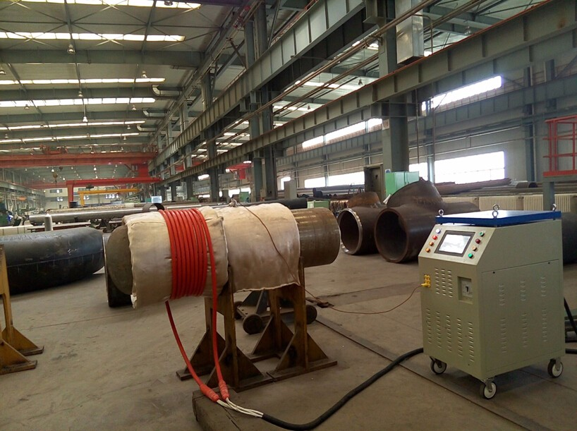 weld preheating machine