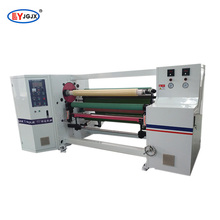 LY-802 printed duct tape rewinding machine/PE film medical tape rewinder machine/BOPP sealing tape rewinder