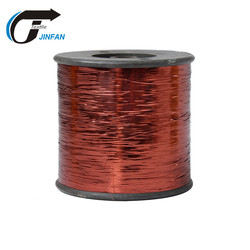 copper M type metallic yarn lurex yarn for hand knitting