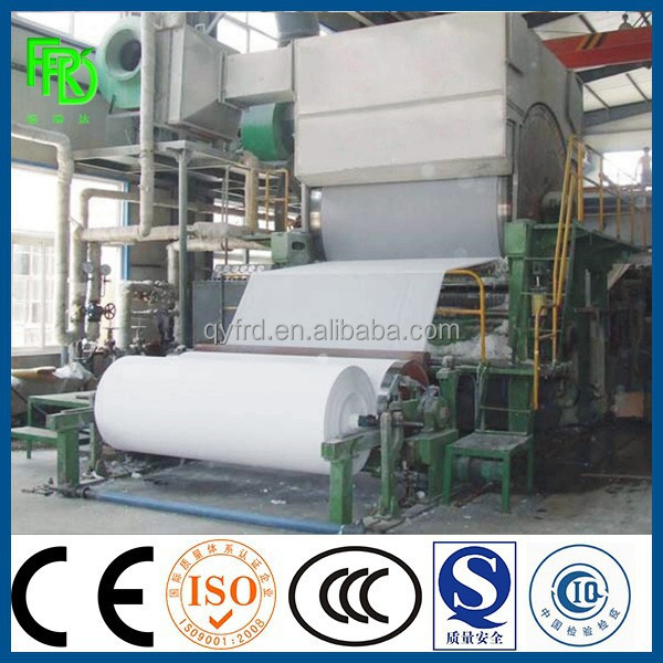 tissue paper /egg tray/pulp molding paper making machine for sale