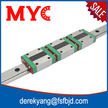 hgw20ca linear motion guide rail for cnc z axis