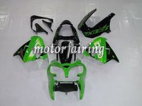 kawasaki zx9r abs fairing for zx-9r ninja 00-03 black&green