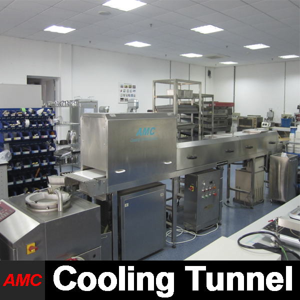 Mini Customize Stainless Steel gummy bear maker Cooling Tunnel Machine