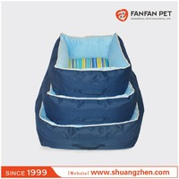 Short fleece pet dog and cat hooded cat bed