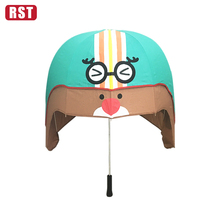 chinese supplier cartoon bubble water spray umbrella wholesale fashion windproof birdcage helmet umbrella for girl