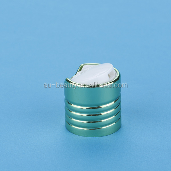 Green disc top cap aluminium