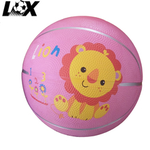 Wholesale custom color size 5 rubber bladders basketball toys