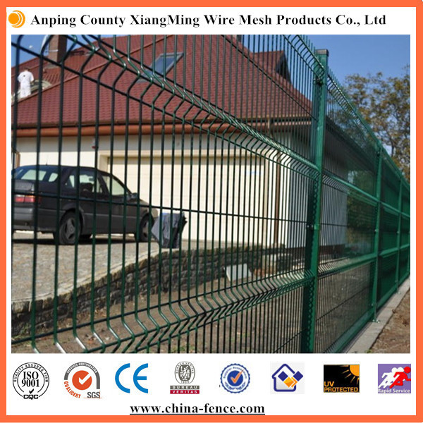 Galvanized PVC Color Coated Steel Wire Safety Fence Panel