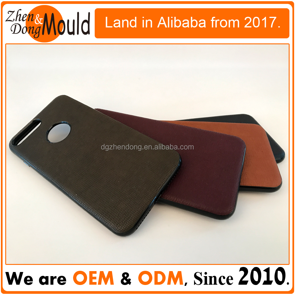 OEM PC casing and PU leather mobile cases