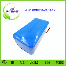 OEM lithium ion battery 12v 30ah for solar street light