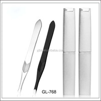 Hot selling tweezer eyelash extension beauty eyebrow tweezers