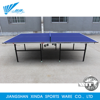 Indoor sport training professional player foldable ping pong facilities equipment table tennis