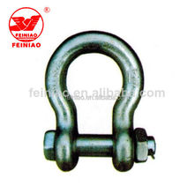 Anchor Bow Shackle With Safety Pin Hardware Rigging
