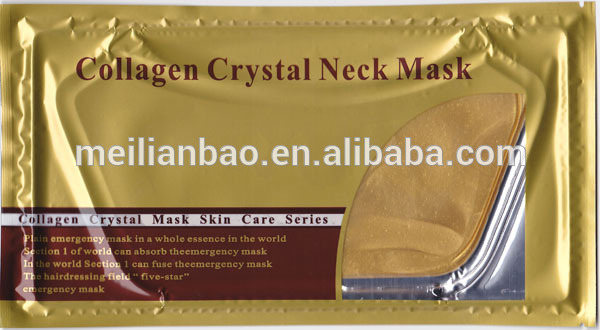 best selling <strong>q10</strong> firming lifting face and neck collagen crystal neck mask