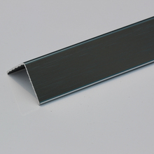 Black Aluminum External Drywall Corner Guard for Protective Wall