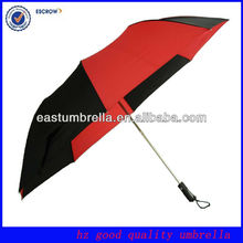New Design Mixed Colors Auto Open Fashion 2 Fold Golf Umbrella