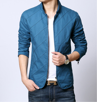 44Gentlemen's long sleeve BUTTON thickens maintains warmth jacket for WINTER season,fom Guangzhou