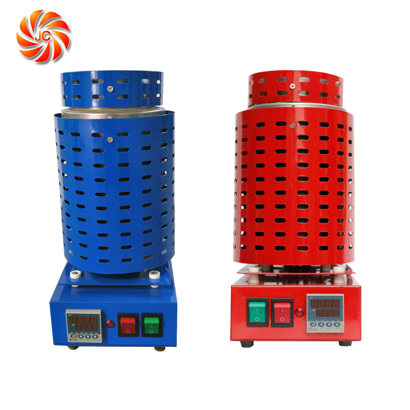 JC Factory Made 100% Good Quality Resistance Portable Melting Furnace