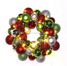 2016 Brand new type christmas decorations ball garland with lights