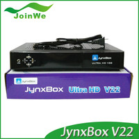 Factory Price For Original Jyazbox Ultra Hd V23 Fta Hd Satellite Receiver With Jb200 And Wifi Better Than Jynxbox V22 V30
