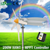 Portable 200W 12V 24V Mini Wind Power Generator