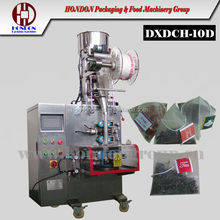 nylon triangular bag tea packing machine for orchid tea (Model DXDCH-10D)