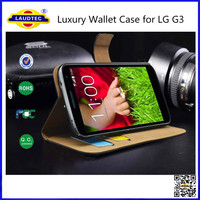 For LG G3 Genuine Leather Wallet Case