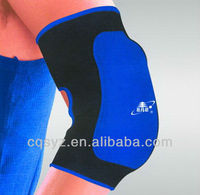 Orthopedic adjustable elbow protector for motorcyle