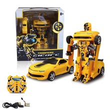 2 in 1 Car&Robot Shape-shifting RC car Educational Robot Kit for Kids