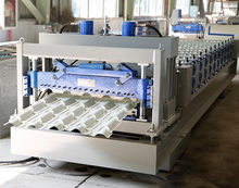 Glazed Roof Making Machine Glazed Tile Roll Forming Machine
