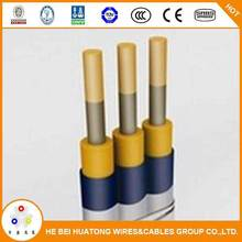 China supplier 2kv flex three cores submersible deep well pump cable
